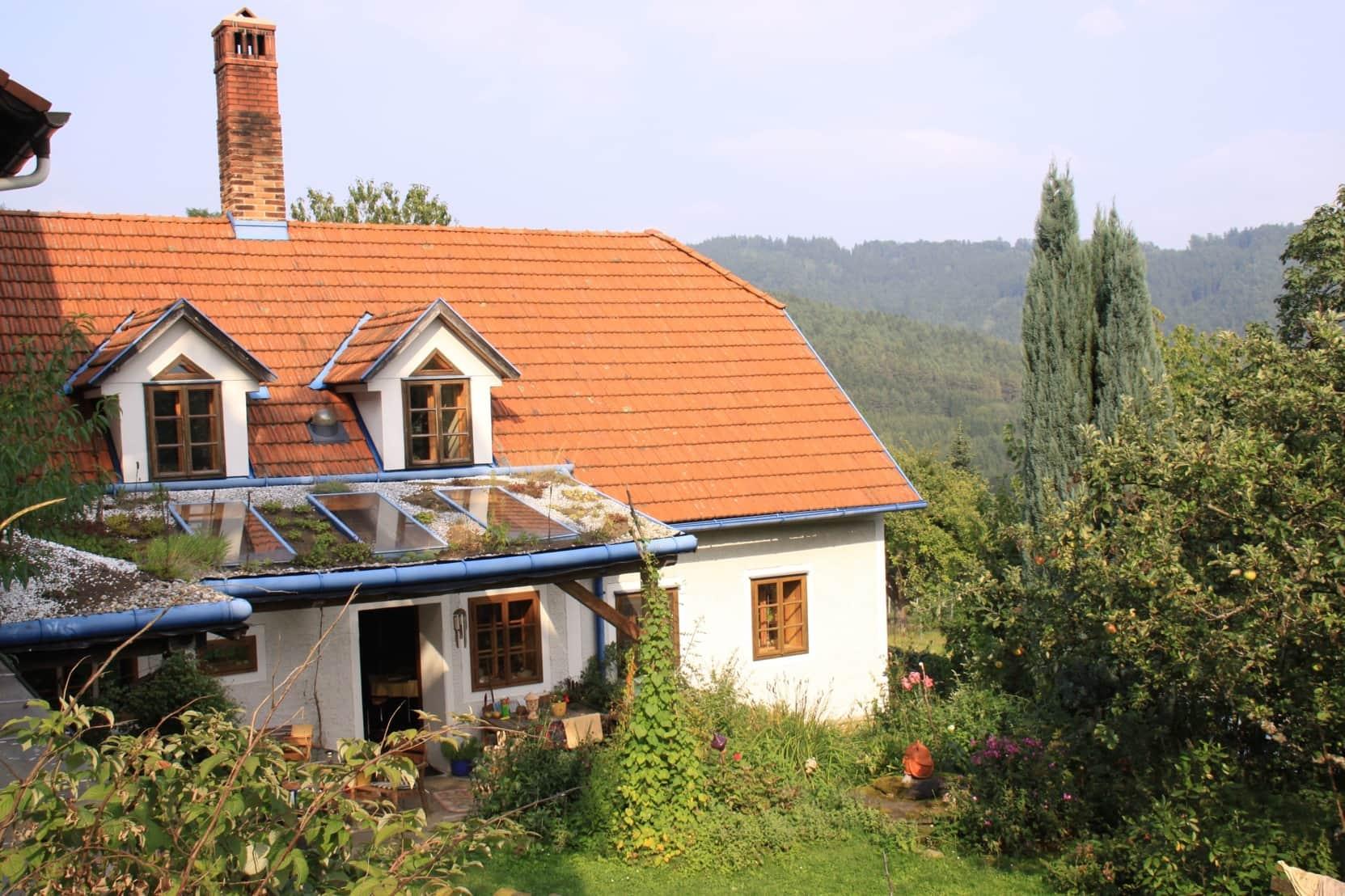 Haus saniert